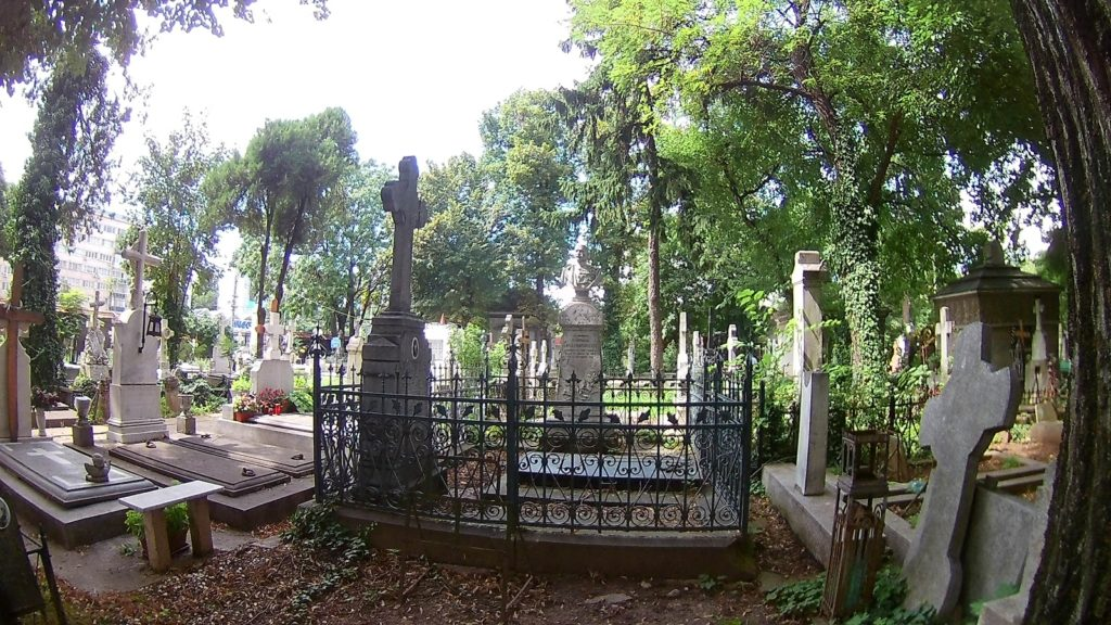 Tur ghidat în Cimitirul Bellu