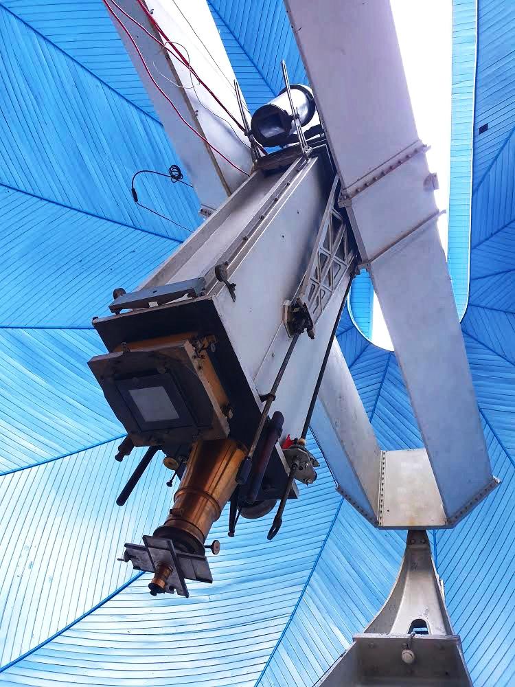 Astrograful dublu Prin-Merz, clasat în patrimoniul cultural național mobil
