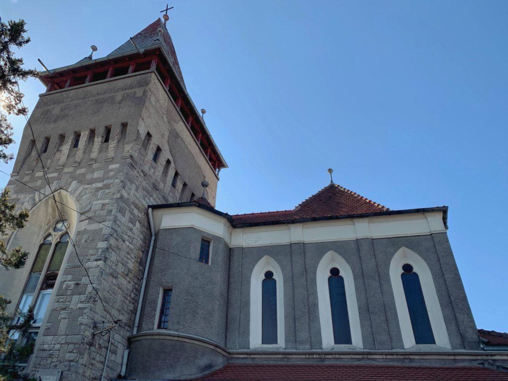 Biserica Evanghelică Lutherană construită de comunitatea germană din Ploiești între anii 1938-1942