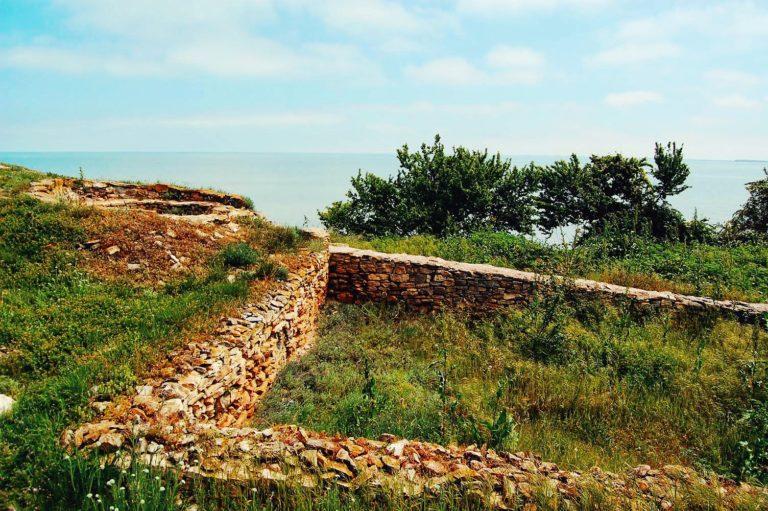 Ruinele unei așezări din cetatea Argamum