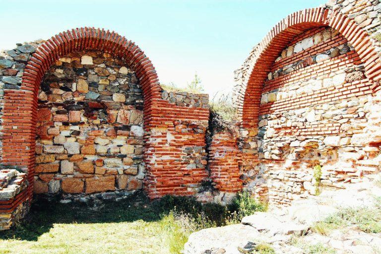 Ruinele cetății Histria - bolte