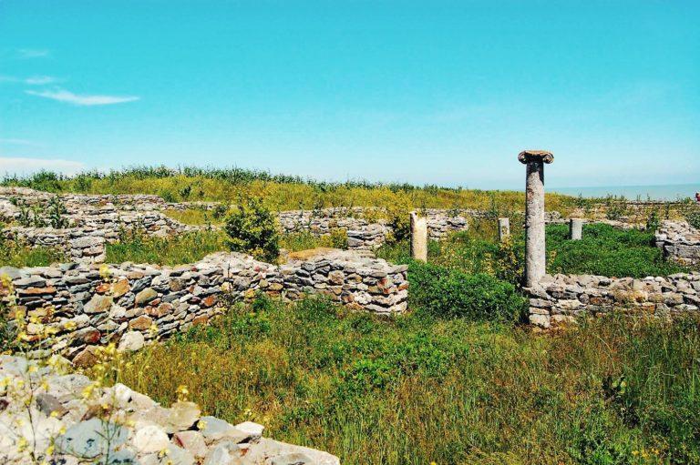 Ruinele cetății Histria