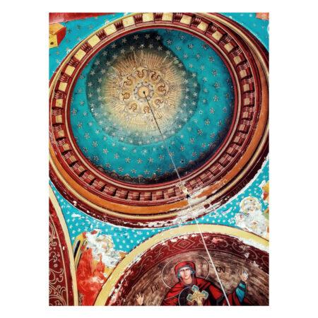 Detaliu tavan în cavoul familiei Marincu