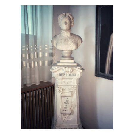 Bustul Mariei Marincu - mama lui Ștefan Marincu