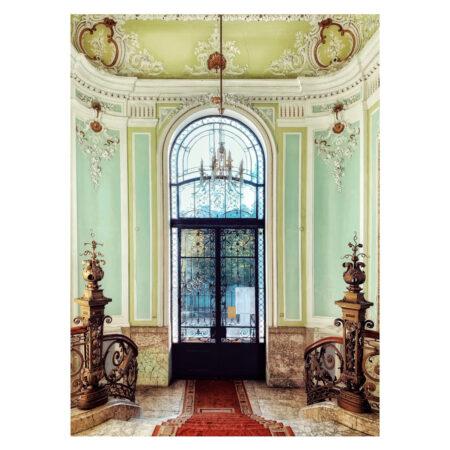 Hall-ul palatului Marincu din Calafat