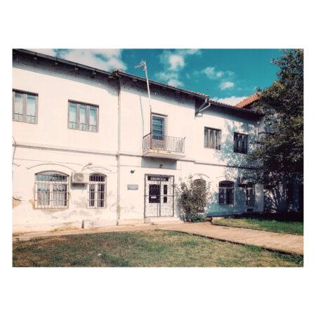 Fostele dependințe ale palatului Marincu