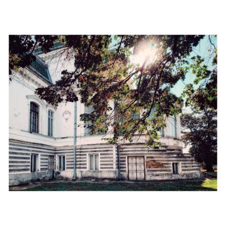 Vedere de toamnă asupra palatului Marincu