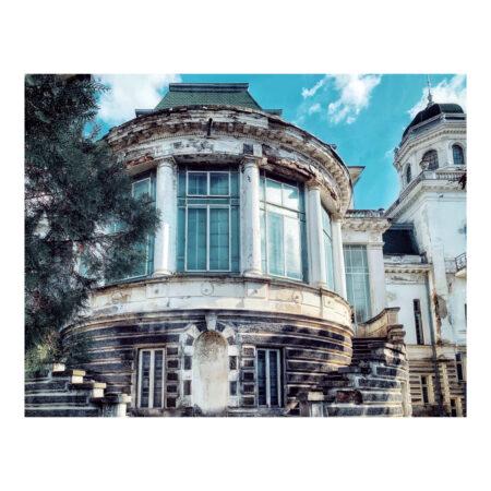 Detaliu asupra palatului Marincu