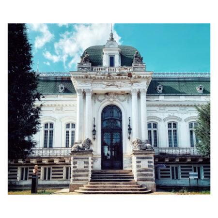 Fațada palatului Marincu din Calafat