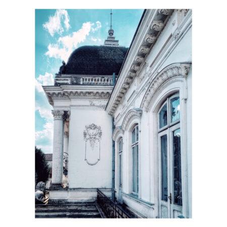 Detaliu fațadă - Palatul Marincu