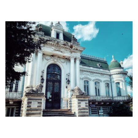 Palatul Marincu - vedere din față