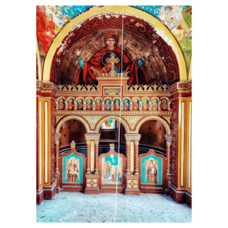 Altarul cavoului familiei Marincu din Calafat