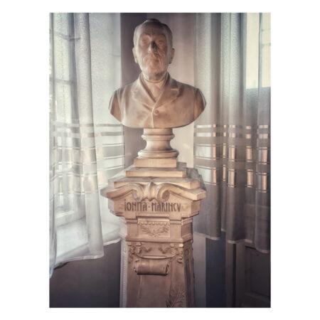 Bustul lui Ioniță Marincu - tatăl lui Ștefan Marincu