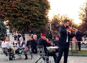Recital de vioară la Calafat la popotă: Reconstituirea Războiului de Independență 1877-1878