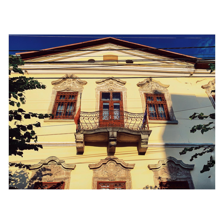 Casa Karatsony - detaliu fațadă