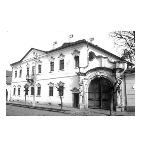 "Vedere Casa Karacsonyi - Sursa: ""Armenopolis. Oraș baroc"" de Virgil Pop"
