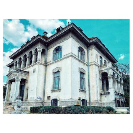 Casa Băileșteanu din Craiova - unghi