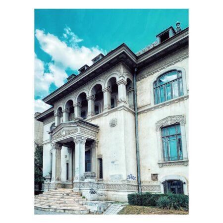 Casa Băileșteanu din Craiova - perspectivă fațadă