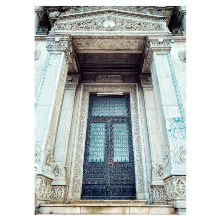 Casa Băileșteanu din Craiova - detaliu fațadă
