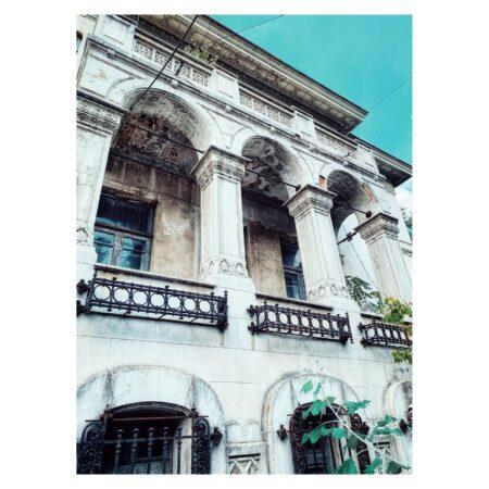 Casa Băileșteanu din Craiova - detaliu balcon