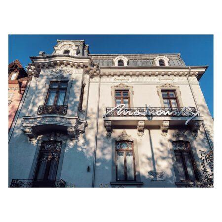 Fațada casei de pe Lascăr Catargiu nr. 46