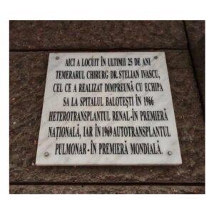 Brezoianu 53 - plăcuță memorială