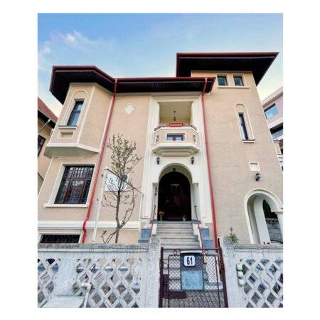 Casa lui George Emil Palade - fațadă