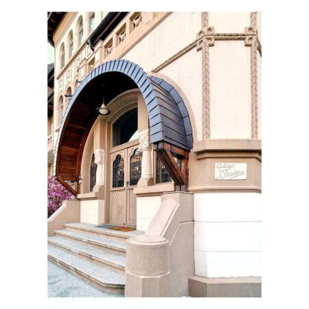Plăcuța de arhitect de pe Str. B. Șt. Delavrancea nr. 41
