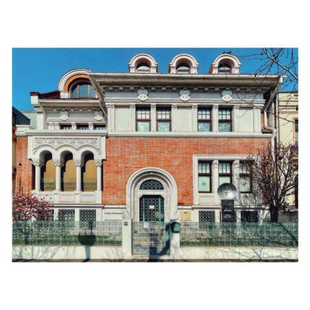 Fațada casei dr. Dobrovici - Lascăr Catargiu nr. 40