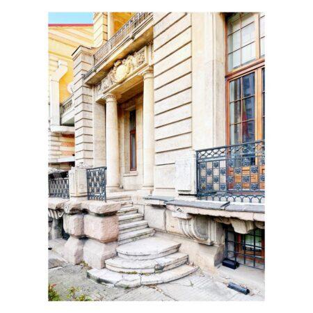Perspectivă fațadă - Casa ing. Constantin M. Vasilescu - Lascar Catargiu nr. 54