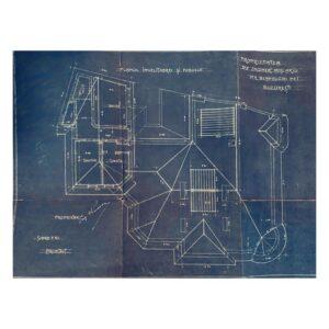 Planurile mansardei din Blanduziei nr. 1