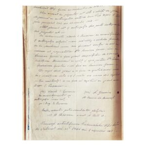 Act de schimb între vecinii Leonida Gussi și Valeriu Pușcariu - pag. 2