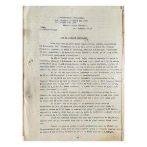 Act de vânzare-cumpărare între Elena Pascal Arion și Maria Pușcariu - pag. 2