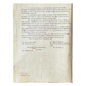 Act de vânzare-cumpărare între Elena Pascal Arion și Maria Pușcariu - pag. 1