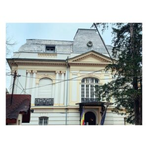 Casa Leonida Gussi/ Grigore N. Filipescu proiectată de Berindey - Str. Nicolae Filipescu nr. 40 (fostă Scaune) - fațada dintre curtea Pușcariu