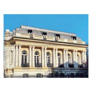 Casa Leonida Gussi/ Grigore N. Filipescu proiectată de Berindey - Str. Nicolae Filipescu nr. 40 (fostă Scaune) - fațada principală