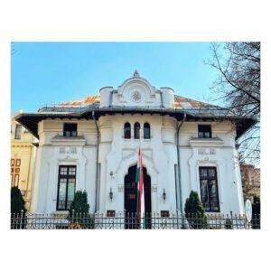 Detaliu fațadă vila Mavrodin