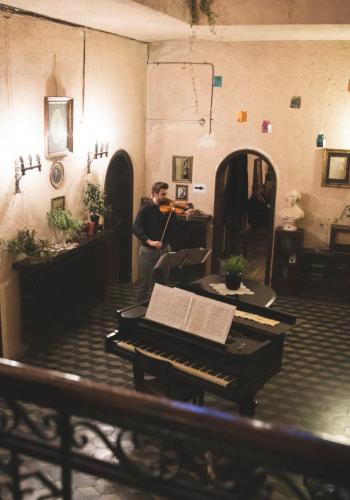 Recital de vioară la Casa Costa-Foru