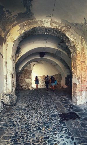 Turnul boltit de intrare în Biserica fortificată Sf. Margareta