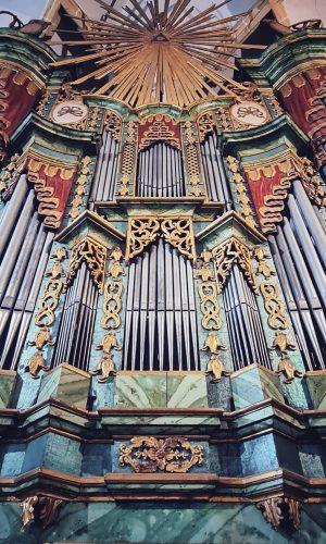 Orga din Biserica fortificată Sf. Margareta