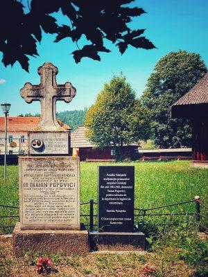 Mormântul lui Traian Popovici