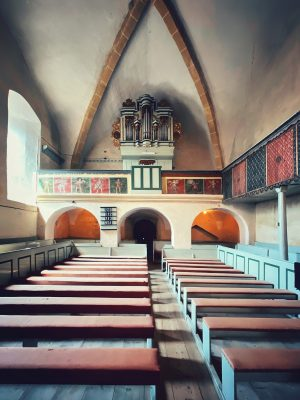 Orga din Biserica fortificată din Axente Sever