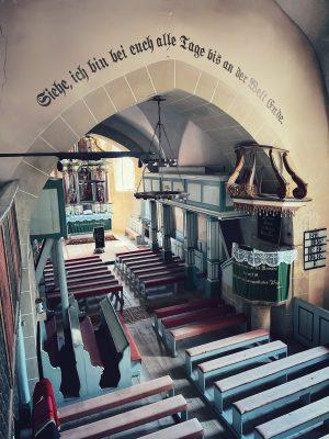 Amvonul din Biserica fortificată din Axente Sever