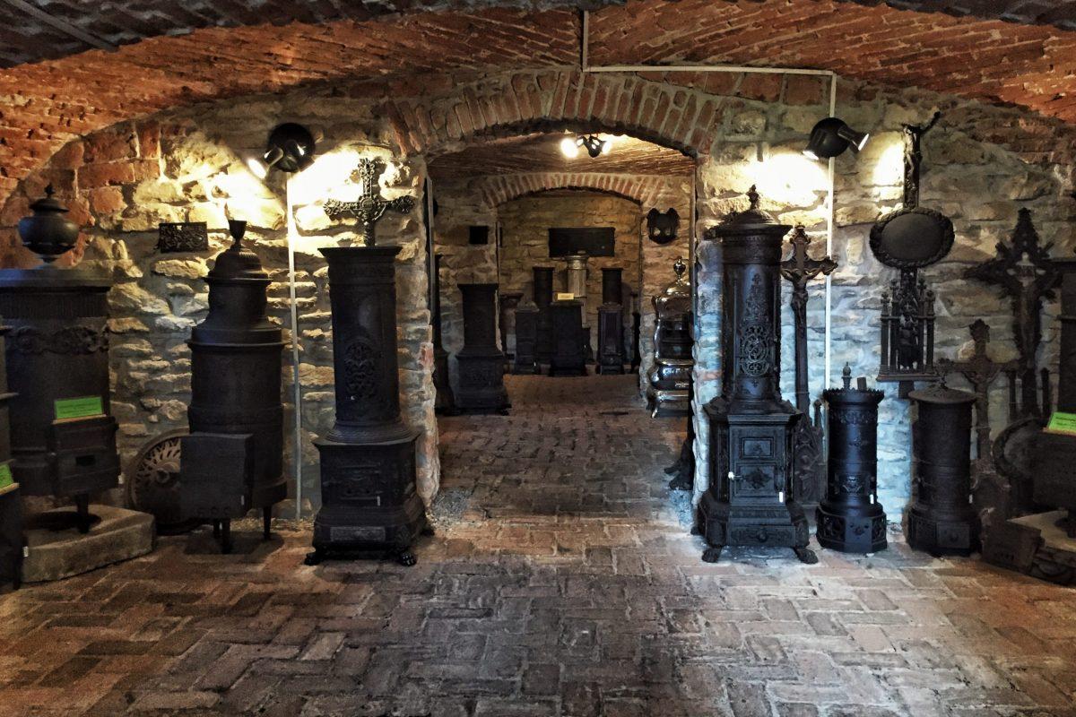 Sobe de fontă - Muzeul Haszmann Pál