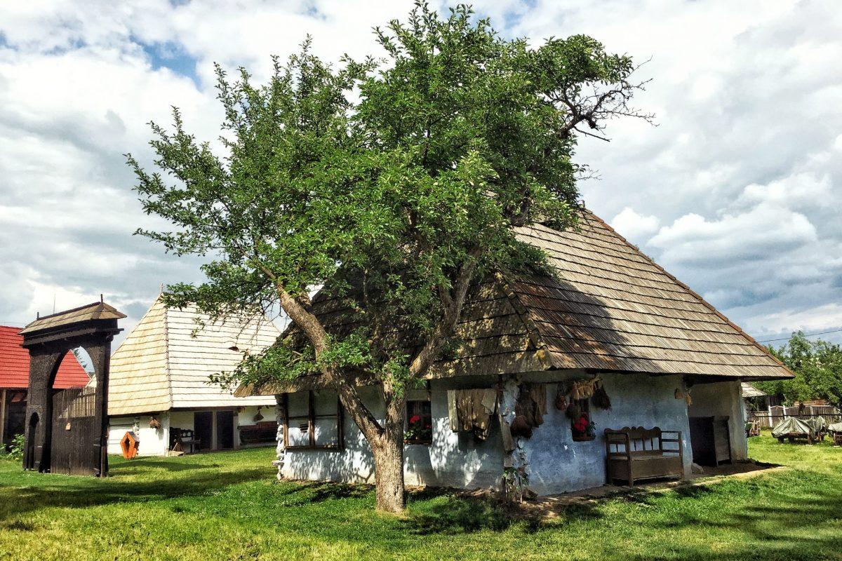 Casă tradițională secuiască - Muzeul Haszmann Pál