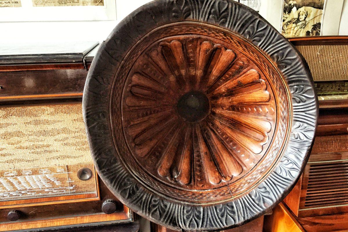 Gramofon - Muzeul Haszmann  Pál