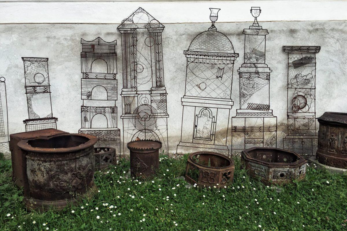 Stilizări sobe de fontă - Muzeul Haszmann Pál