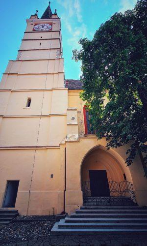 Turnul înclinat al Trompeților din Mediaș